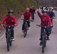 Encouragement Group Biking