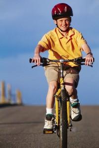 Encouragement Kid's Bike Safety